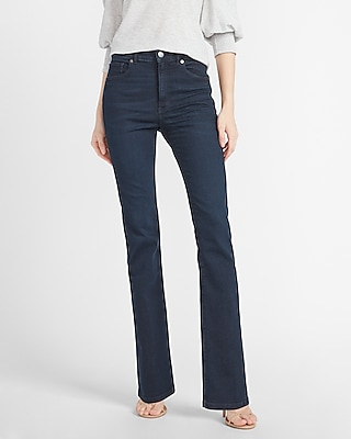 Express High Waisted Hyper Stretch Bootcut Jeans