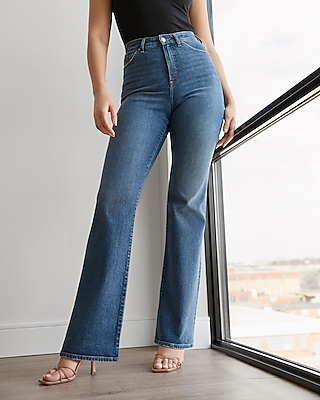 Express High Waisted Curvy Bootcut Jeans