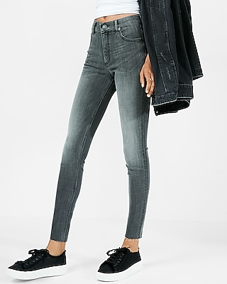 High Waisted Stretch+ Performance Ankle Jean Legging