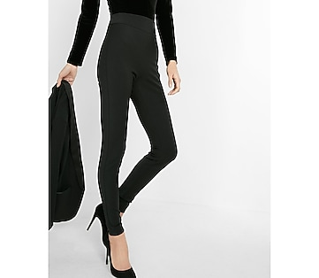 high waisted extreme stretch cigarette pant