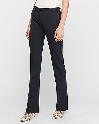 Express Mid Rise Barely Boot Columnist Pant