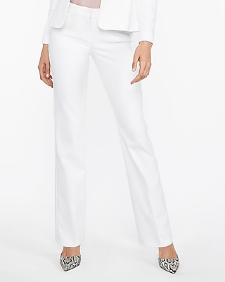 Express Womens Low Rise Barely Boot Editor Pant