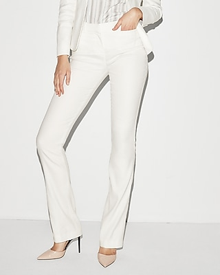 Mid Rise Barely Boot Columnist Pant