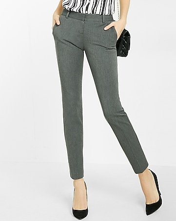low rise studio stretch columnist ankle pant