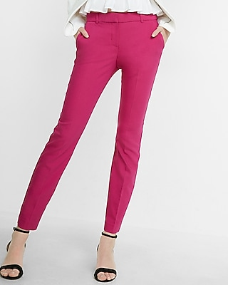 Mid Rise New Waistband Columnist Ankle Pant