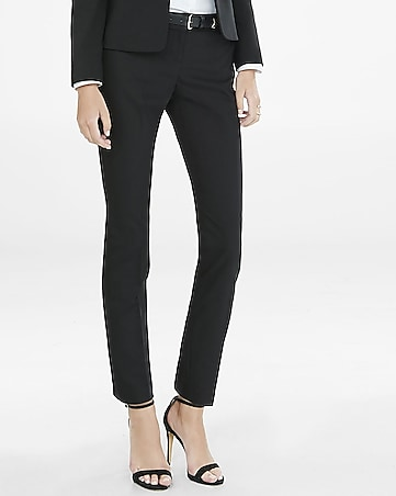 petite low-rise new waistband columnist ankle pant