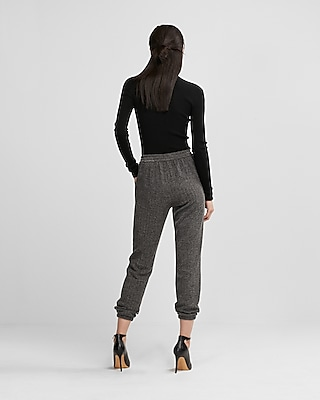 Express Womens Textured Jogger Pants