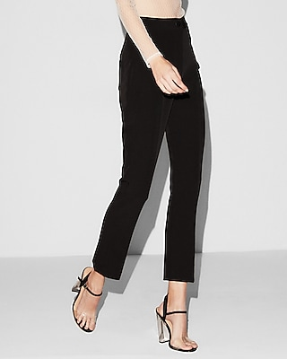 Express Womens Super High Waisted Skinny Ankle Pant