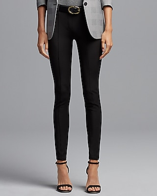 Express Womens Mid Rise Pull-On Leggings