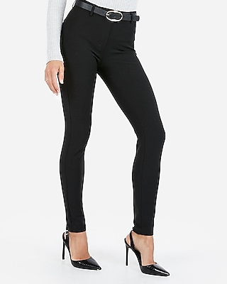 Express Womens Petite Mid Rise Extreme Stretch Skinny Pant