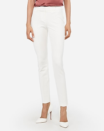 mid rise new waistband skinny pant