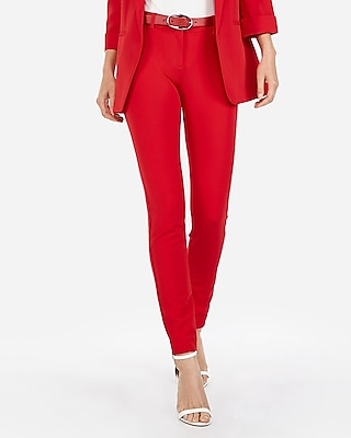 Express Womens Mid Rise Extreme Stretch Skinny Pant
