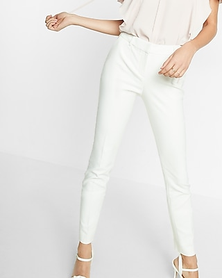 Express Womens Mid Rise Skinny Columnist Pant