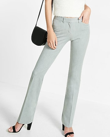 low rise barely boot editor pant