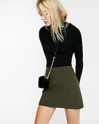 Express Womens A-Line Mini Skirt