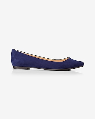 Express Womens Pointed Toe Flat
