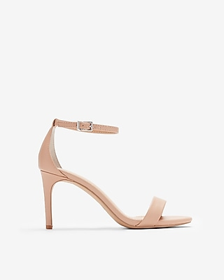 Express Womens Low Heeled Sandals