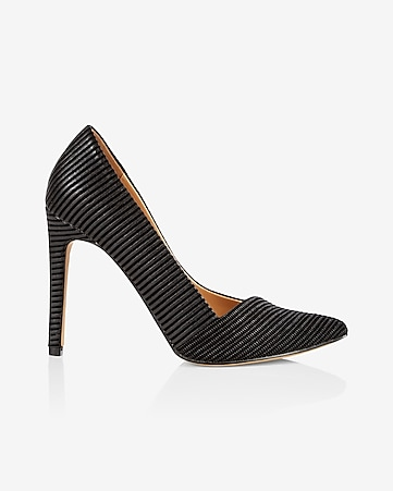 textured asymmetrical pump