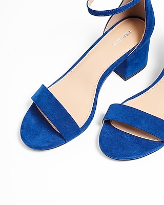 Low Block Heeled Sandal