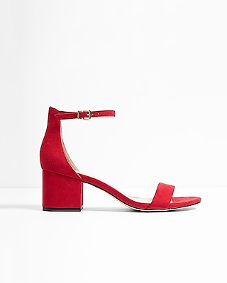 Low Block Heeled Sandal