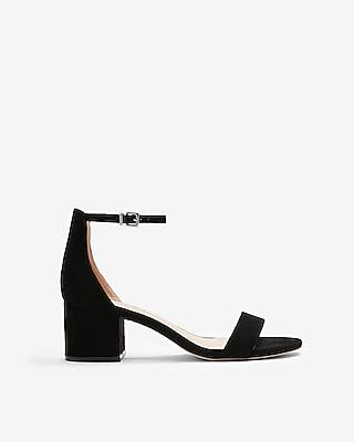 Express Womens Block Heel Sandals