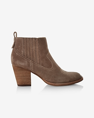 Express Womens Dolce Vita Jones Bootie