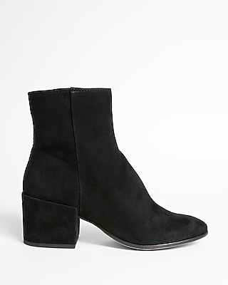 Express Womens Dolce Vita Suede Maude Booties