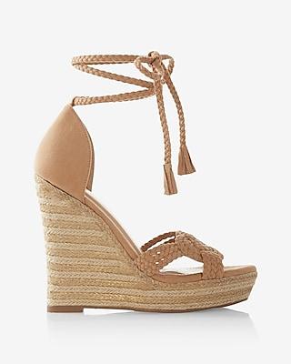 Braided Wedge Sandal