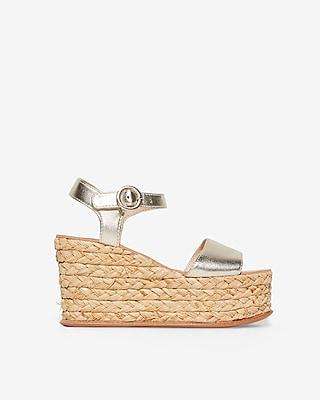 Express Womens Dolce Vita Dane Wedge Sandals