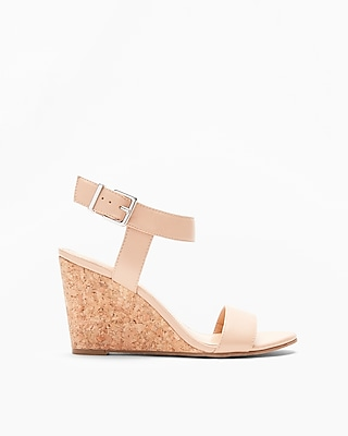 Express Womens Dressy Wedge Sandals
