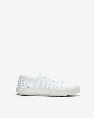 Express Womens Superga Sport Knit Sneakers