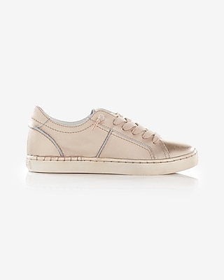 Express Womens Dolce Vita Zalen Leather Sneakers