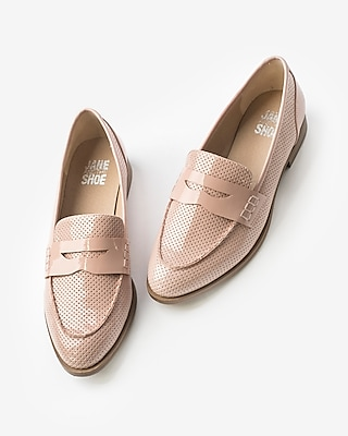 Express Womens Jane And The Shoe Lewis Loafers