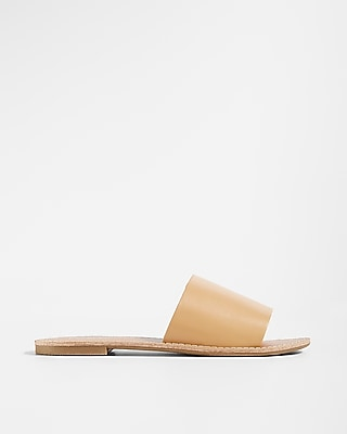 Express Womens Slide Sandals