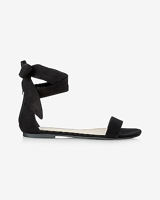 Express Womens Side Tie Sandal