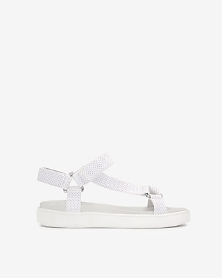 Express Womens Jane And The Shoe Jade Sandals