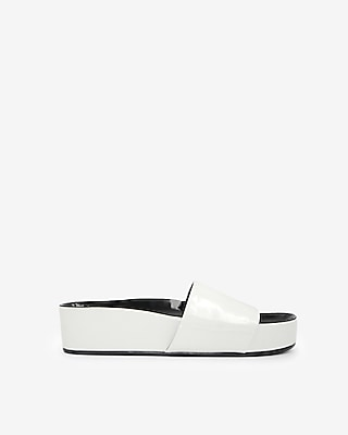 Express Womens Jane And The Shoe Kamila Slide Sandals
