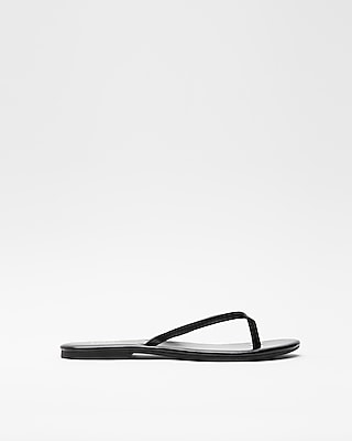 Express Womens Simple Flip Flops