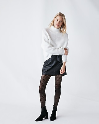 Express Womens Funnel Neck Sweater