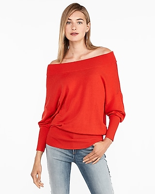Express Womens Banded Bottom Wedge Tunic Sweater