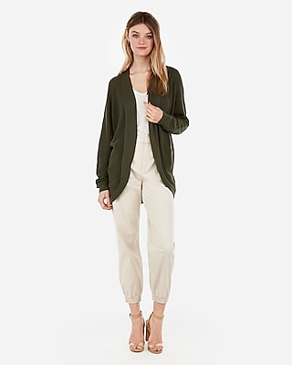 Express Womens Cocoon Open Front Cardigan
