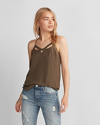 Express Womens Cut-Out Barcelona Cami