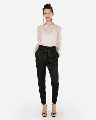 Express Womens Metallic Chiffon Overlay Thong Bodysuit