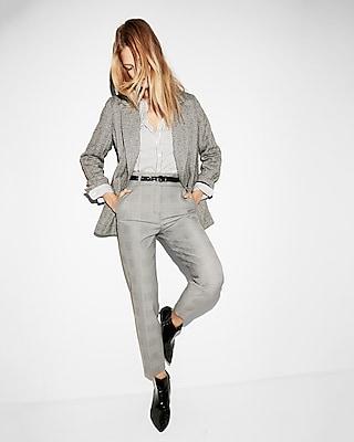 Express Womens Original Long Sleeve Stripe Ultimate Essential Shirt