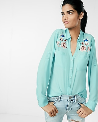 Original Fit Embroidered Portofino Shirt