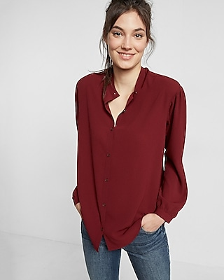 Relaxed Fit V-neck Shirt