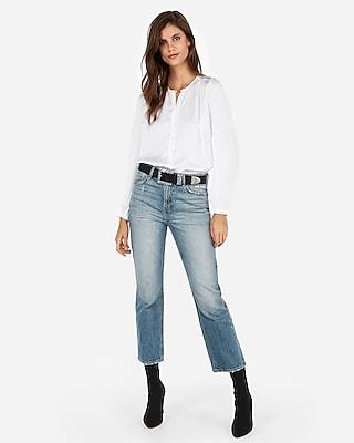 Express Womens Satin Button Front Thong Bodysuit