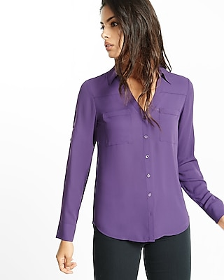 Express Womens Original Fit Portofino Shirt