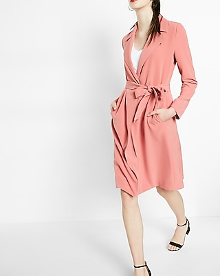 Express Womens Soft Trench Coat