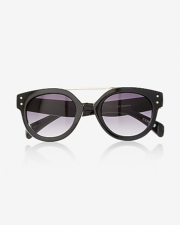 brow bar cat eye sunglasses